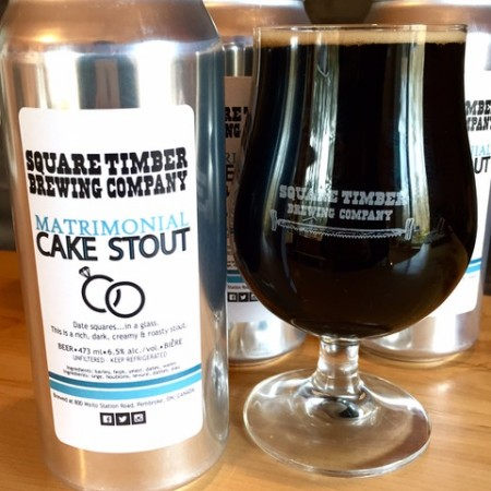 Square Timber Brewing Releases Matrimonial Cake Stout