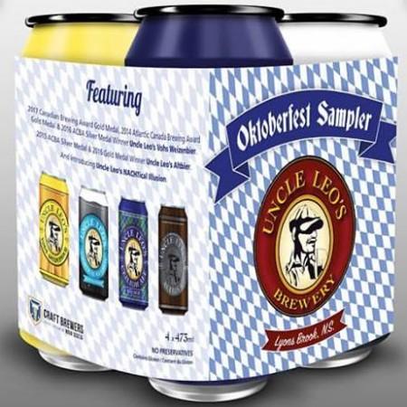 Uncle Leo's Brewery Brings Back Oktoberfest Sampler Pack
