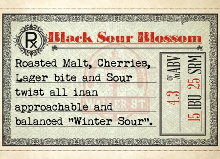 Waller St. Brewing Releasing Black Sour Blossom