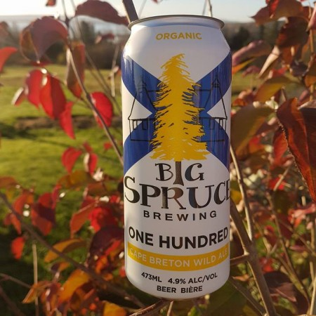 Big Spruce Announces Can Release for One Hundred Wild Ale