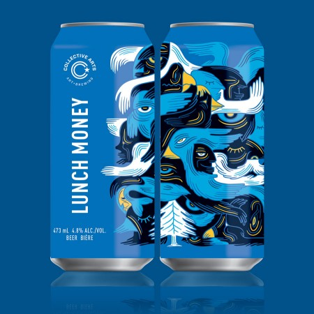 Collective Arts Launches Lunch Money Ale & Brings Back Black IPA