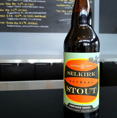 Mt. Begbie Brewing Continues Heritage Series with Selkirk Oatmeal Stout