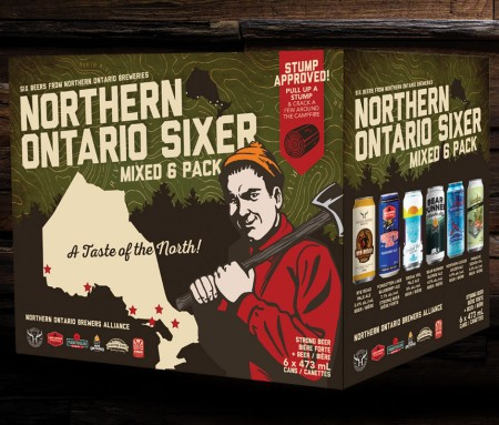 Northern Ontario Brewers Alliance Announces Mixed Six Pack