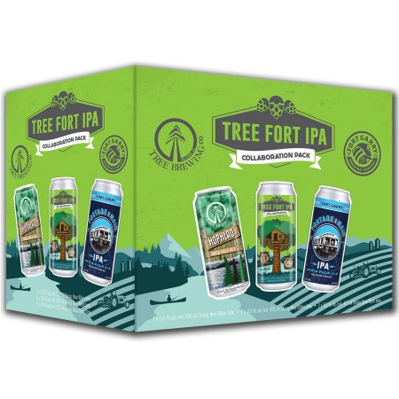Tree Brewing & Fort Garry Brewing Releasing Collaborative Tree Fort IPA