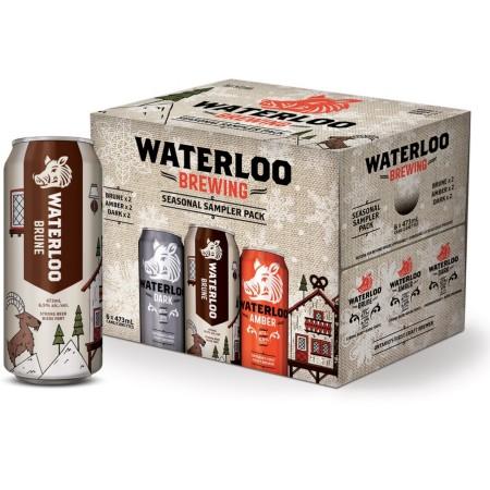 Waterloo Brewing Releases New Seasonal Sampler Pack for Winter 2017-18