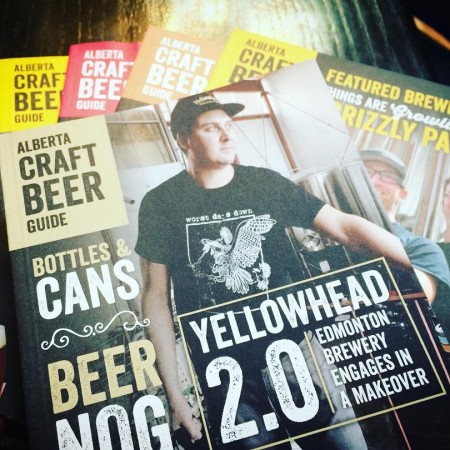 Alberta Craft Beer Guide Winter 2017-18 Issue Out This Week