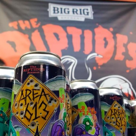 Big Rig Brewery & The Riptides Release Area 613 Ale