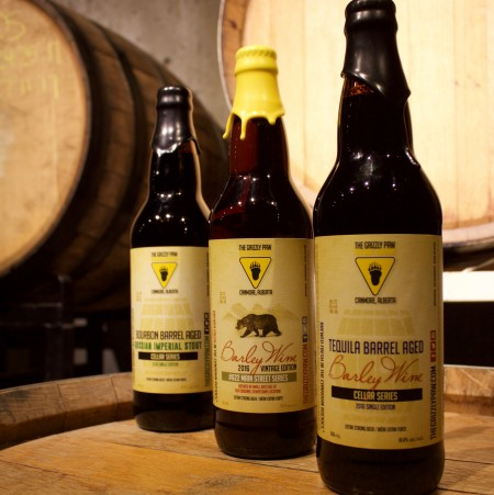 Grizzly Paw Brewing Releasing Trio of Strong Beers This Month
