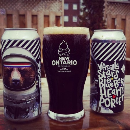 New Ontario Brewing Releases Vanilla Stars & Blueberry Hearts Porter