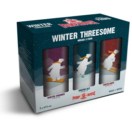 Pump House Brewery Releases Winter Threesome Mixed Pack