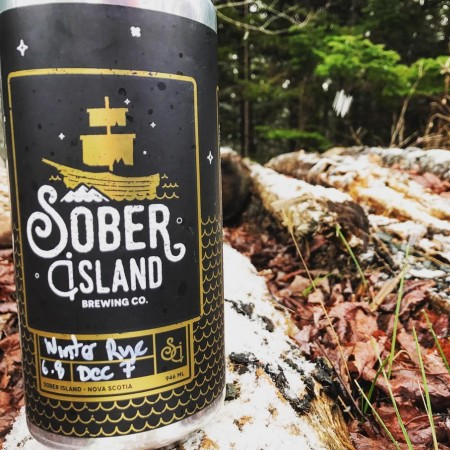 Sober Island Brewing Releases Winter Rye Ale