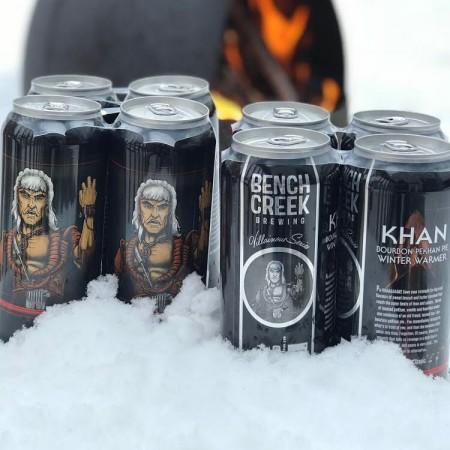 Bench Creek Brewing Villainous Series Continues with Khan Bourbon Pecan Pie Winter Warmer