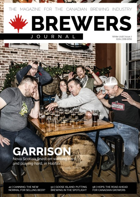 The Brewers Journal Canada Winter 2018 Issue Now Available