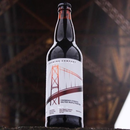 Bridge Brewing Releases Crowded Streets Salted Maple Porter