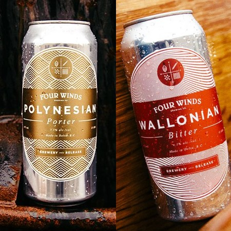 Four Winds Brewing Kicks Off Brewery Only Release Series with Polynesian Porter & Wallonian Bitter