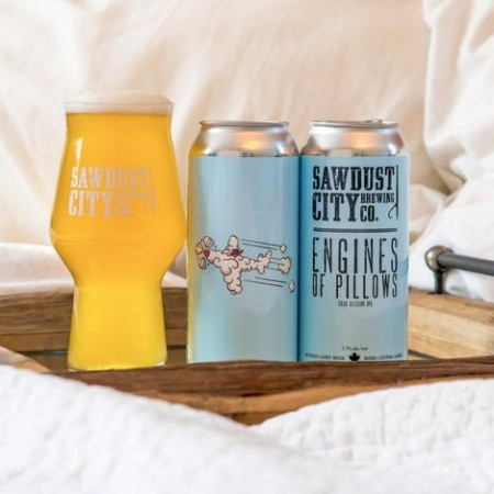 Sawdust City Brewing & Redline Brewhouse Release Engines of Pillows Sour Session IPA
