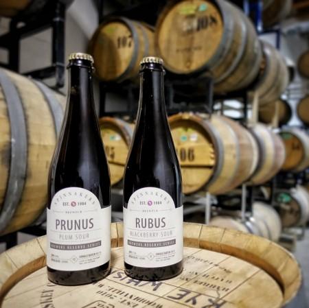 Spinnakers Brewpub Reviving Brewer's Reserve Series with Prunus & Rubus Sour Ales