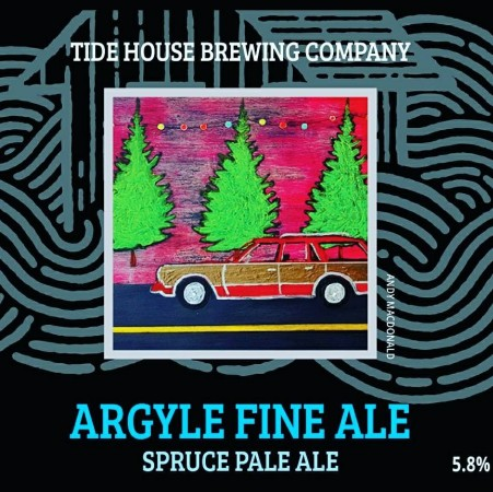 Tidehouse Brewing Releasing Argyle Fine Ale in Collaboration with Argyle Fine Art