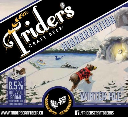 Trider's Craft Beer Releases Hibrrrnation Winter Ale