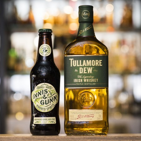 Innis & Gunn and Tullamore D.E.W. Release Kindred Spirits Barrel Aged Stout