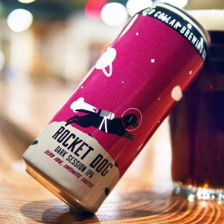Red Collar Brewing Launches Rocket Dog Dark Session IPA