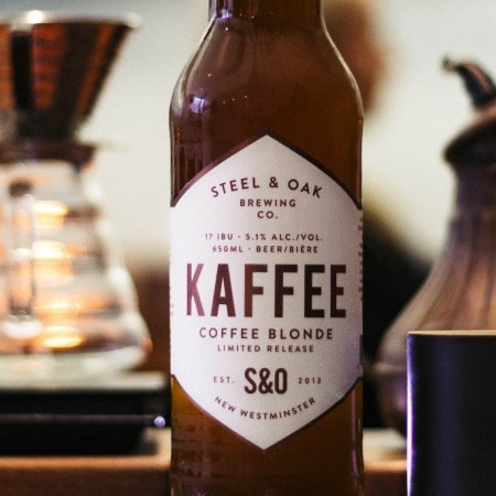 Steel & Oak Brewing and Timbertrain Coffee Roasters Releasing 2018 Edition of Kaffee Coffee Blonde