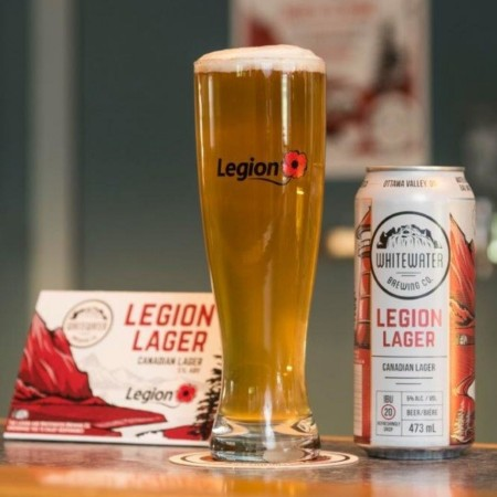 Whitewater Brewing & The Royal Canadian Legion Bring Legion Lager to B.C.