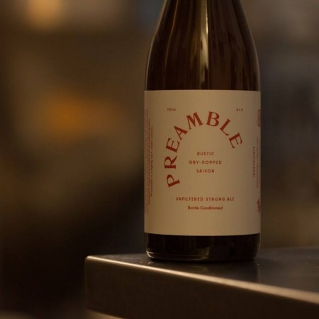 Dageraad Brewing & Coalesce Brewing Releasing Preamble Saison This Weekend