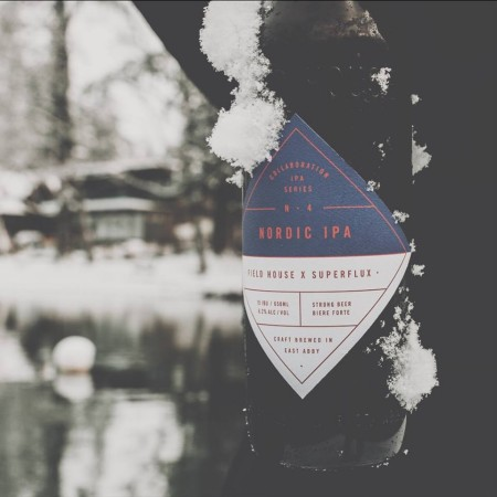 Field House Brewing IPA Collaboration Series Continues with Field House X Superflux Nordic IPA