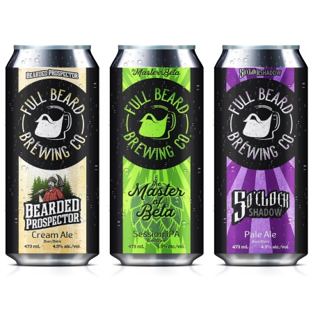 Full Beard Brewing Launches The Master of Beta Session IPA & New Look for Core Brands