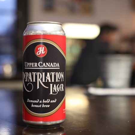 Henderson Brewing & Sleeman Breweries Bringing Back Upper Canada Rebellion Lager