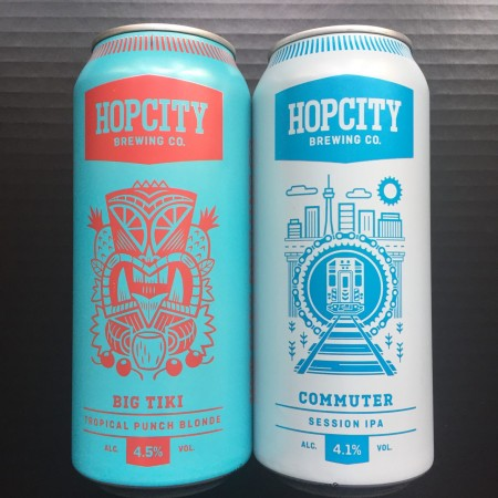 Hop City Brewing Releasing Commuter Session IPA & Big Tiki Tropical Punch Blonde as Spring/Summer Seasonals