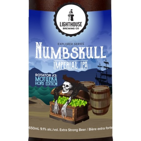 Lighthouse Brewing Numbskull Rotator Series Continues with Motueka Edition