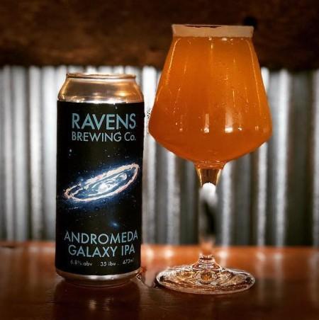 Ravens Brewing Releasing Andromeda Galaxy IPA