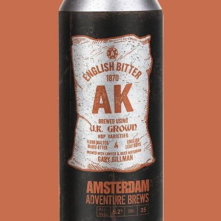 Amsterdam Brewery & Beer Historian Gary Gillman Releasing AK English Bitter