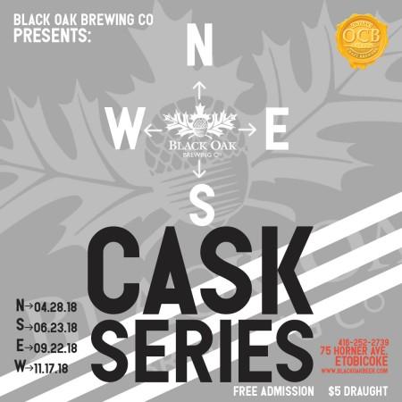 Black Oak Brewing Announces N.S.E.W. Cask Series