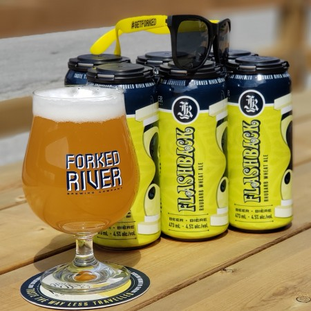 Forked River Brewing Mojo Rhubarb Wheat Ale Returns as Flashback