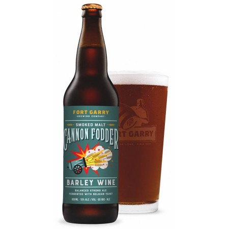 Fort Garry Brewing Releases Cannon Fodder Barley Wine