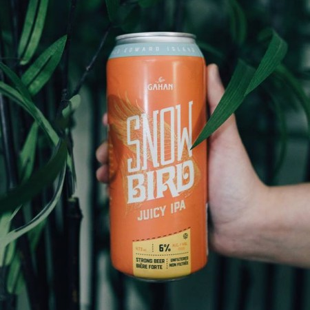 Gahan House Snowbird Juicy IPA Now Available in Cans