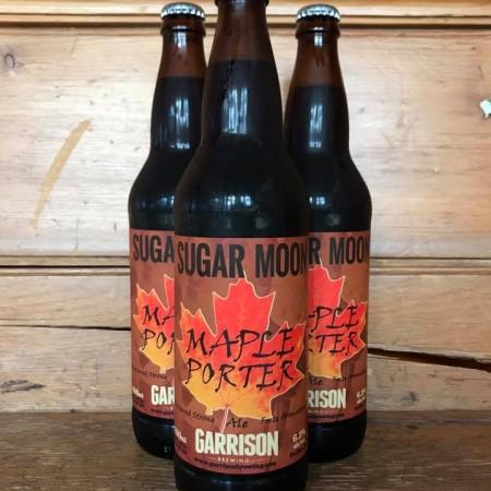 Garrison Brewing Releases Sugar Moon Maple Porter