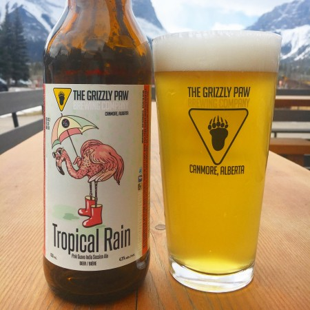 Grizzly Paw Brewing Releasing Tropical Rain Guava ISA for Pink Boots Society