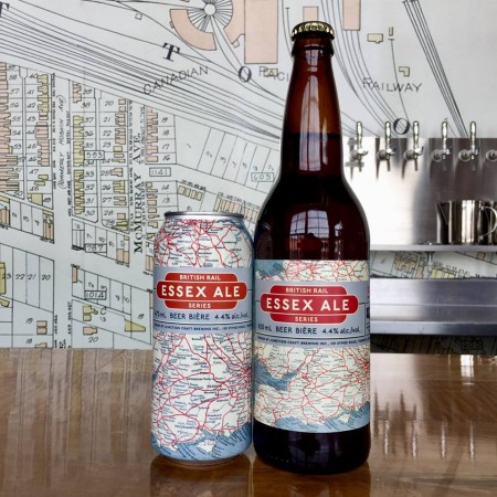 Junction Craft Brewing British Rail Series Continues with Essex Ale