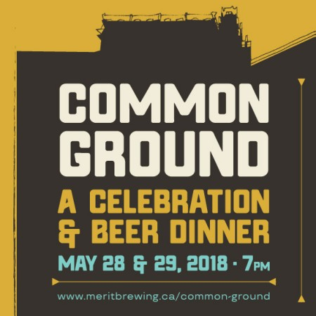 MERIT Brewing Announces Common Ground Dinners for 1st Anniversary