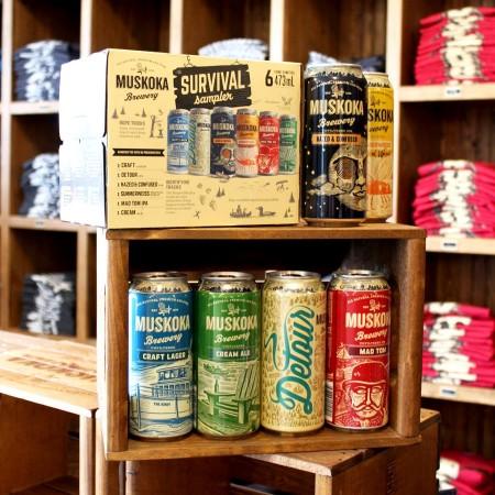Muskoka Brewery Announces 2018 Summer Survival Sampler Pack