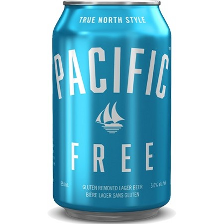 Pacific Western Brewing Releases Pacific Free Gluten Removed Lager