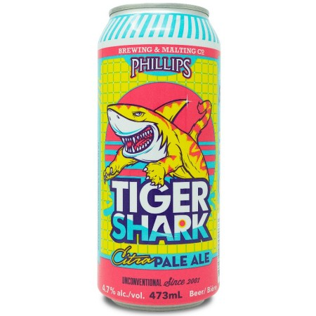 Phillips Brewing Releases Tiger Shark Citra Pale Ale