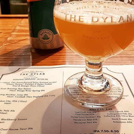 The Dylan Bar in East Toronto Launches Brewing Program with Chaos Theory Gose