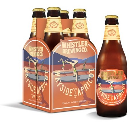 Whistler Brewing Releases Wayside Apricot Wit & Repackages Rescue Ale