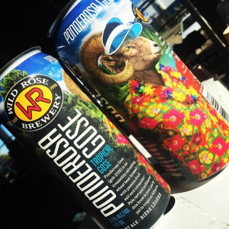 Wild Rose Brewery Brings Back Ponderosa Gose