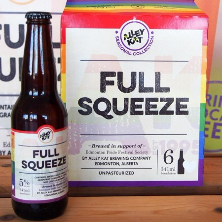 Alley Kat Brewery and Edmonton Pride Bring Back Full Squeeze